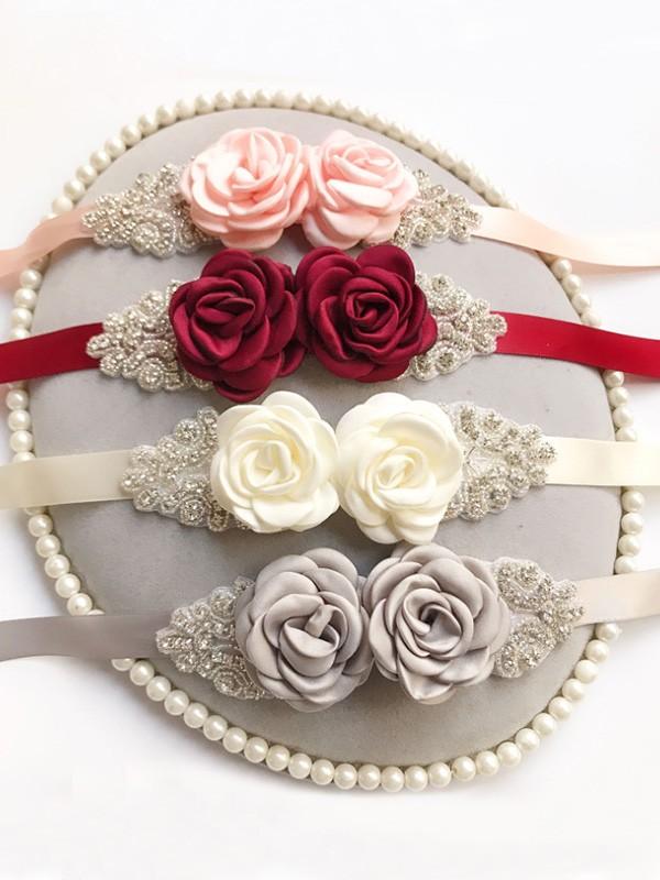 Pretty Raso Ante With Strasss/Flowers