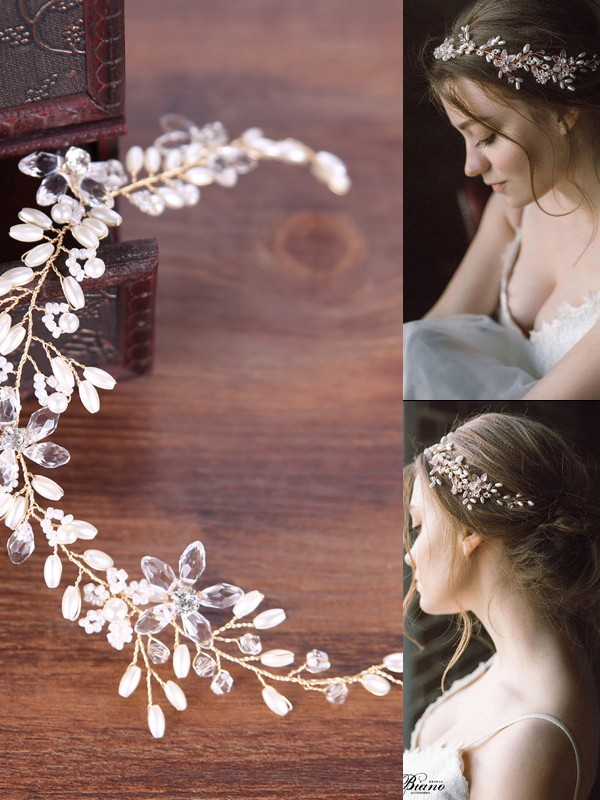 Semplice Perle copricapo