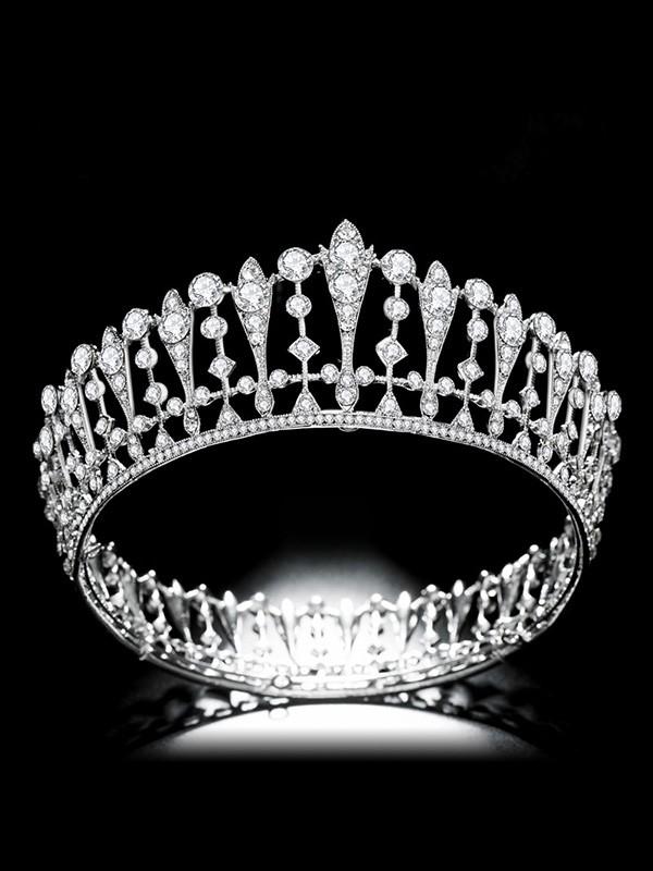 Bridal Amazing Lega Con Strass copricapo