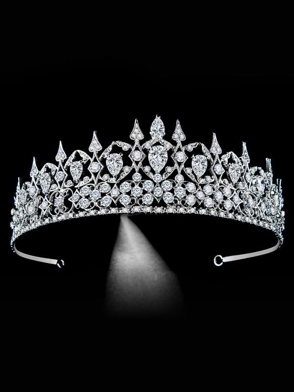 Bridal Exquisite Lega Con Strass copricapo