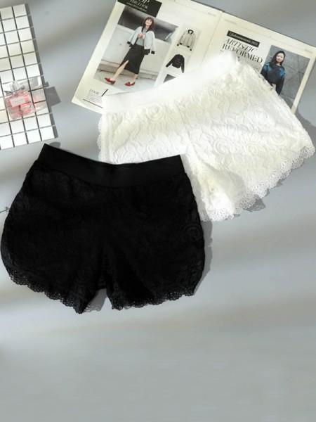 Fashion Women's Pizzo Elastic Safety Pantaloni/Safety Cortos