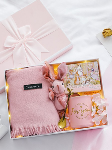 Bright Wedding Gift Box For Damigella d'onore