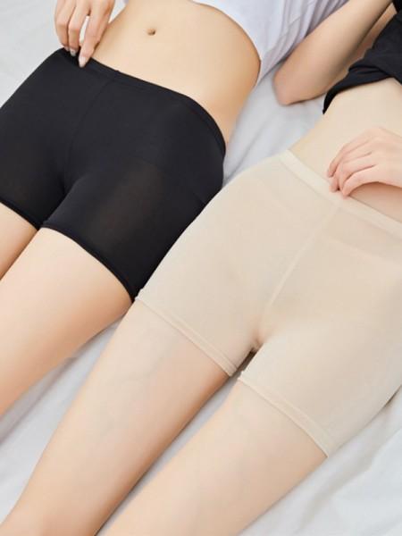 New Women's Poliestere Fiber Elastic Safety Pantaloni/Safety Cortos