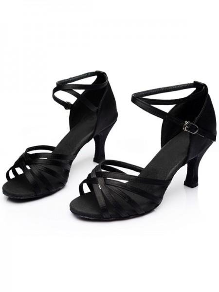 Women's Leatherette Kitten Heel Peep Toe sandali