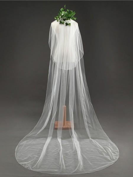 Elegante Tyll Lungo Wedding Veils