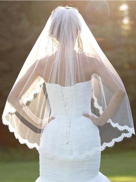 Bellissimo Tyll With Pizzo Wedding Veils