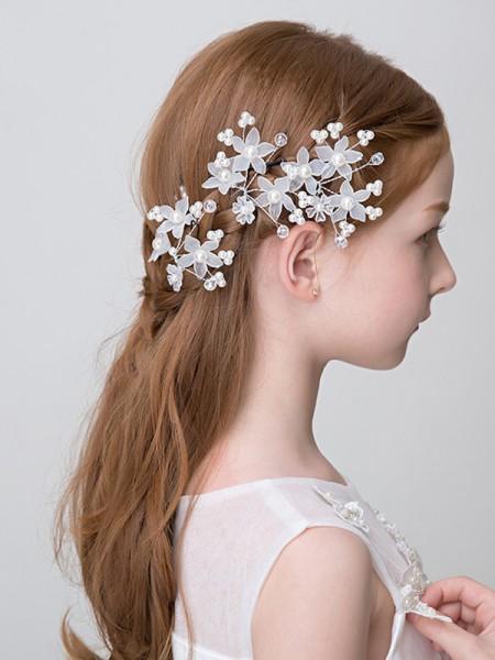 Charming Lega Con Imitation Perla Headbands
