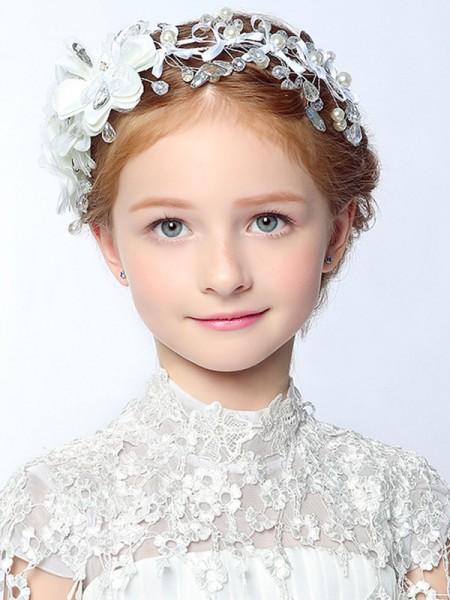 Luxurious Lega Con Imitation Perla Headbands