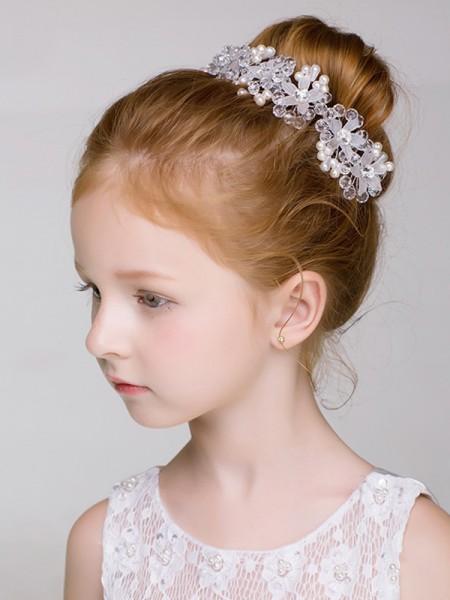 Pretty Lega Con Imitation Perla Headbands