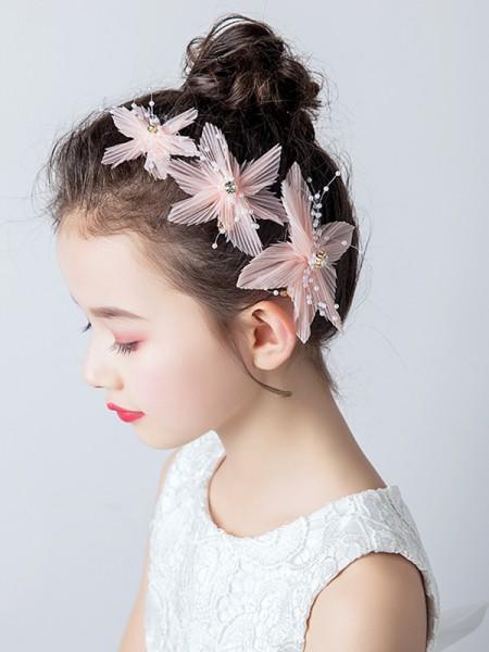 Beautiful Cloth Con Imitation Perla Headbands