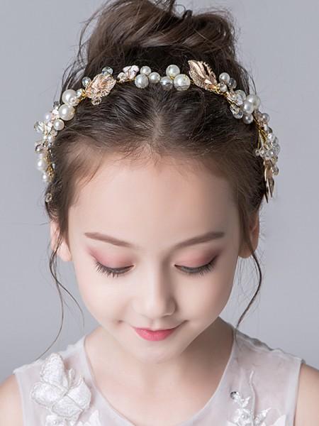 Gorgeous Lega Con Imitation Perla Headbands