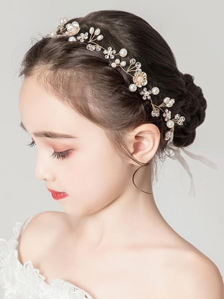 Awesome Lega Con Imitation Perla Headbands