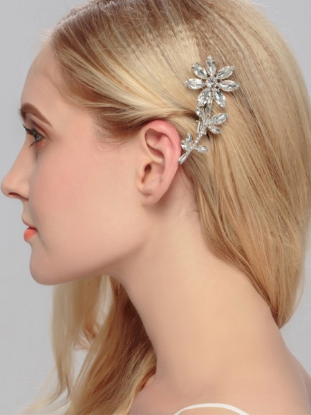 Awesome Lega Con Strass Hairpins