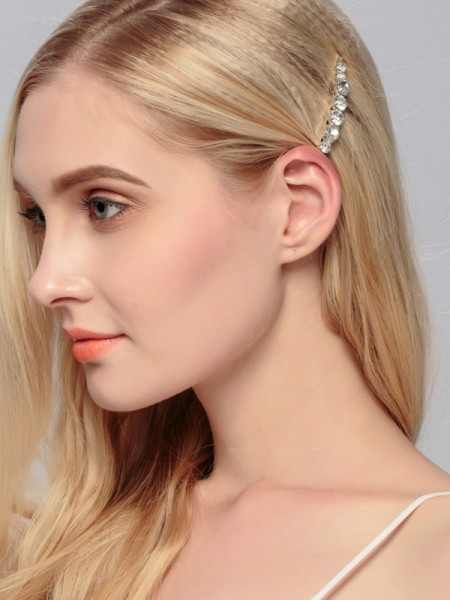 Beautiful Lega Con Strass Hairpins