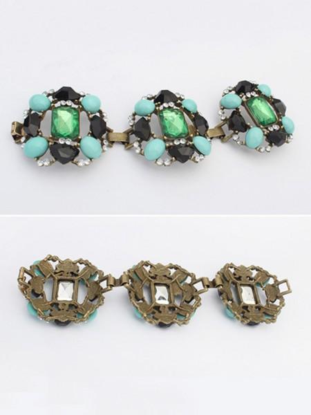 Occidente Elegante Smeraldos Lussuoso vendita calda Bracciali