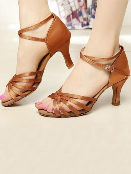 Women's Raso Cone Heel Peep Toe sandali