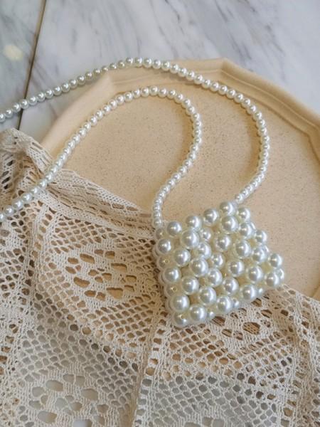Fashion Perline Evening/Party Borse