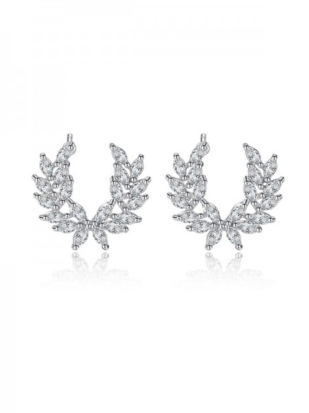 Korean Attractive Cubic Zirconia Hot Sale Orecchini