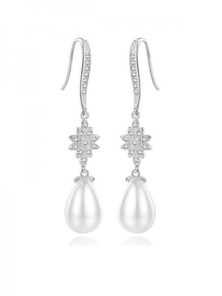 Fancy Ladies's Imitation Perle Orecchini