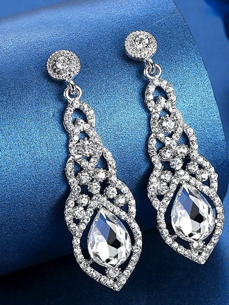 Ladies's Luxurious Cristalli Hot Sale Orecchini