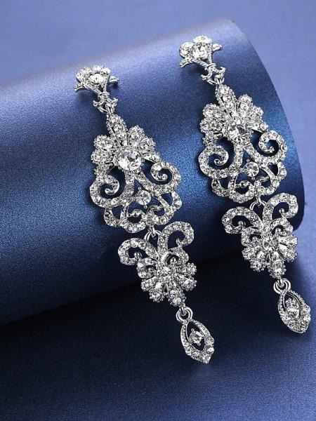 Charming Strass Orecchini For Wedding Bridal