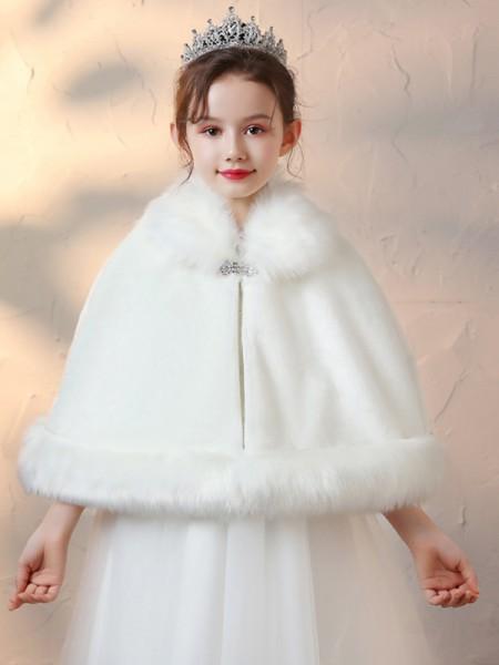 Soft Faux Fur Con Strass avvolgeres