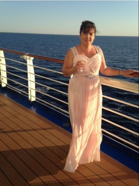 Principessa Chiffona Spalline Senza maniche Perline Al pavimento Abiti Mamma Sposa