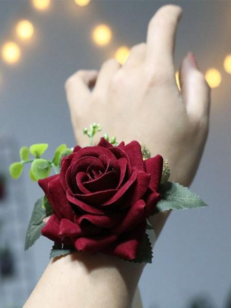 Attractive Cloth Wrist Corsage