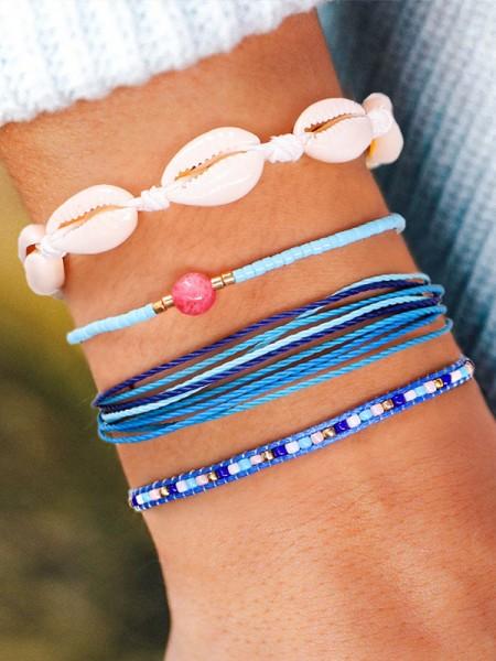 Charming Beads Vendita calda Bracciali(4 Pieces)