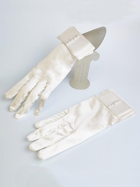 Bellissimo Cloth Con Pearl Sposa Guanti