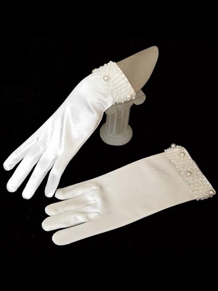 Trending Cloth Con Pearl Sposa Guanti