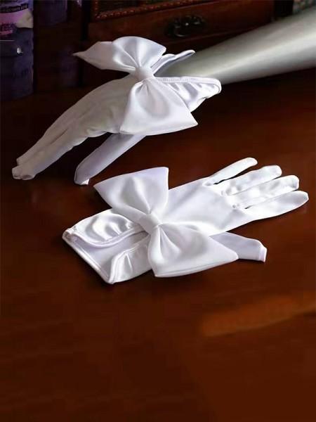 Fancy Cloth Fiocco Sposa Guanti