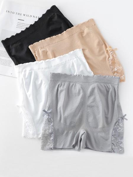 Hot Sale Women's Nylon Pizzo Elastic Safety Pantaloni/Safety Cortos