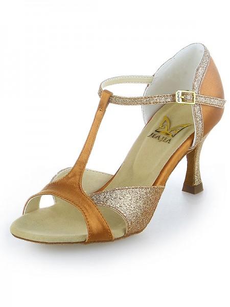 Donna Raso Peep Toe Sparkling Glitter tacco a spillo Scarpe da ballo