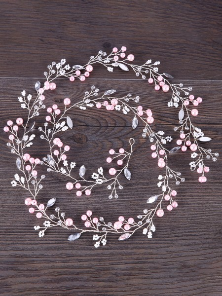 Unique Flowers Pearl Copricapo
