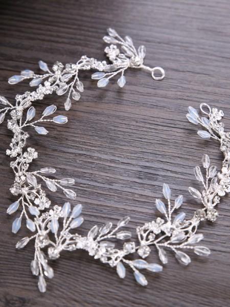 Trendy Leaf Cristalli Copricapo