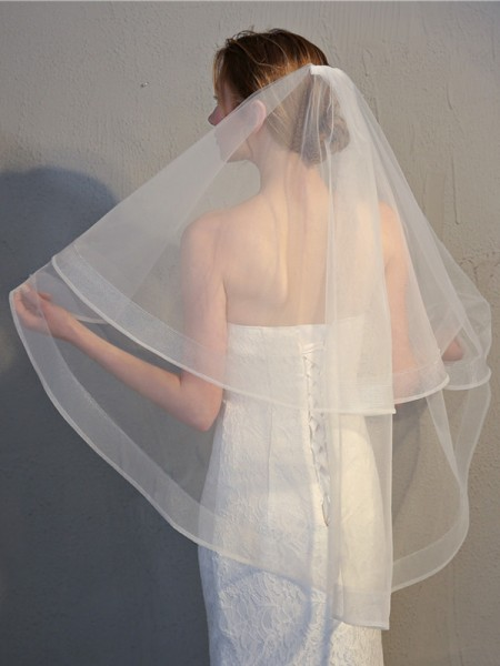 Pretty 2 Layer Tyll Wedding Veils