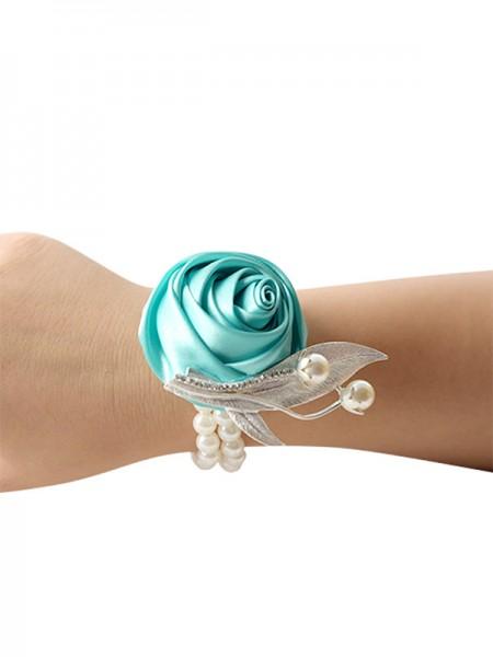 Elegante Hand-tied Stoffa Polso Corpetto