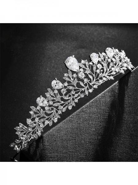 Bridal Fashionable Lega Con Strass copricapo