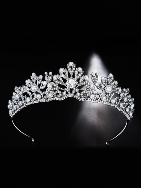 Glamorous Bridal Con Strass Lega copricapo