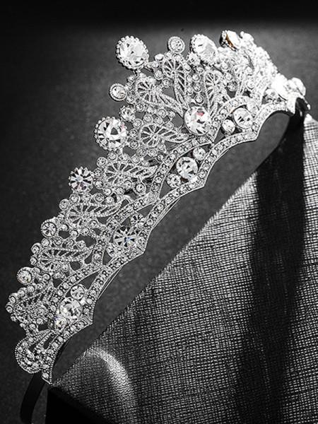 Bridal Gorgeous Lega Con Strass copricapo