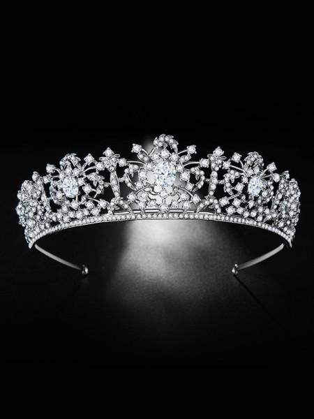 Bridal Trendy Lega Con Strass copricapo