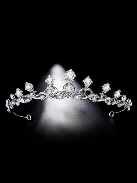Bridal Shinning Lega Con Strass copricapo