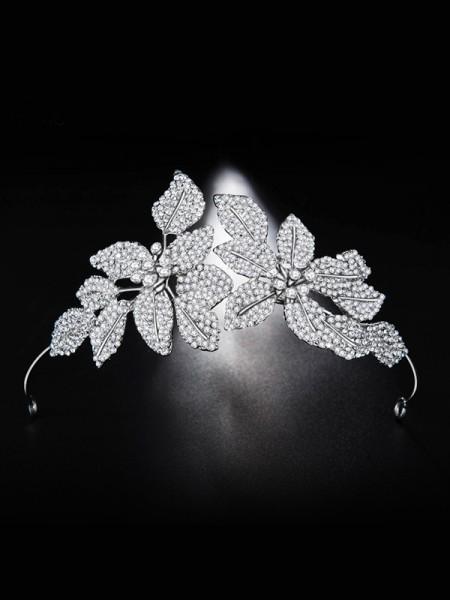 Bridal Beautiful Lega Con Strass copricapo
