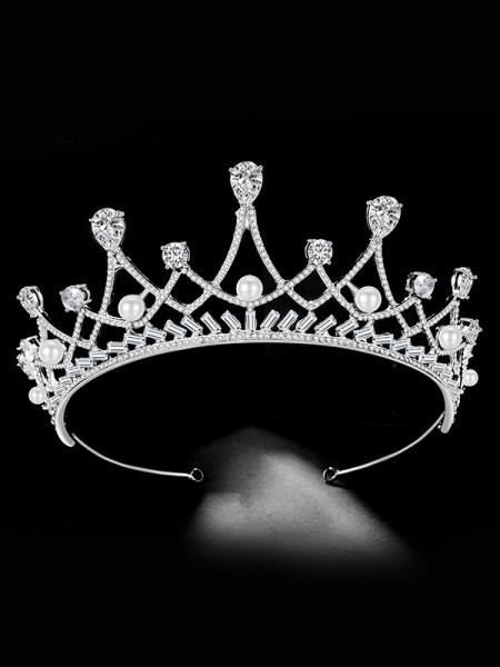 Bridal New Style Lega Con Strass/Imitation Perla copricapo