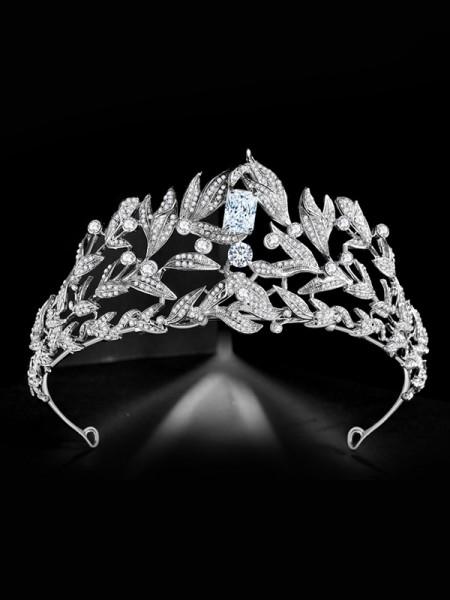 Bridal Fascinating Lega Con Strass copricapo