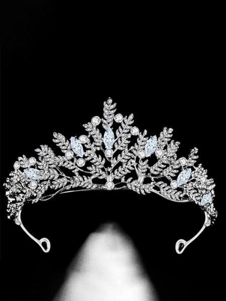 Charming Lega Bridal Con Strass copricapo