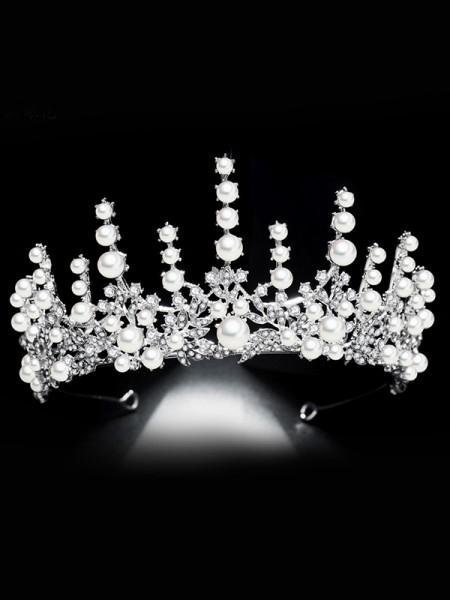 Bridal Beautiful Lega Con Strass/Imitation Perla copricapo