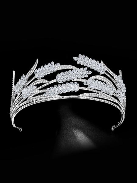 Bridal Brilliant Lega Con Strass copricapo