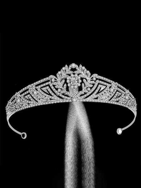 Extraordinary Con Strass Lega Bridal copricapo